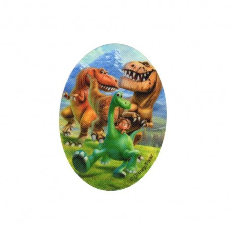 Iron on canvas patch ovale The Good Dinosaur - B