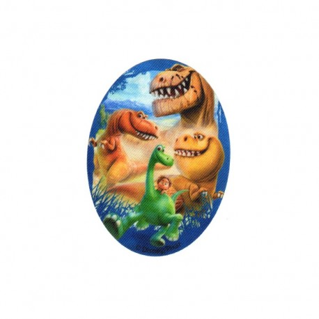 Iron on canvas patch ovale The Good Dinosaur - C