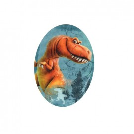 Iron on canvas patch ovale The Good Dinosaur - H