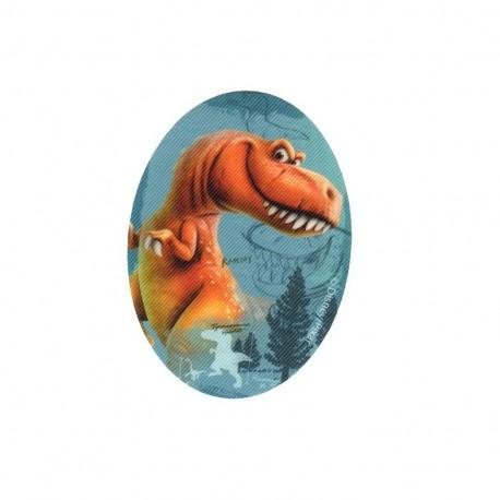 Iron on canvas patch ovale The Good Dinosaur - H