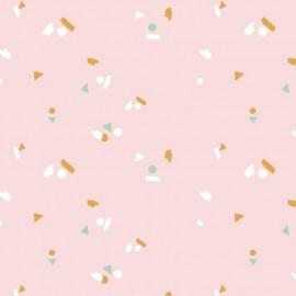 Cotton fabric Atelier Brunette - Abstract x 10cm