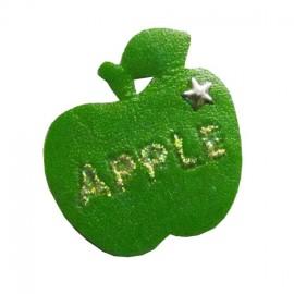 Motif Apple simili Vert