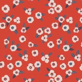 Cotton fabric Atelier Brunette - Mini Labo Garance x 10cm