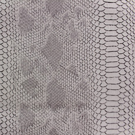 Imitation leather Comodo - pearl x 10cm