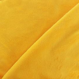 Minkee velvet fabric - sun x 10cm