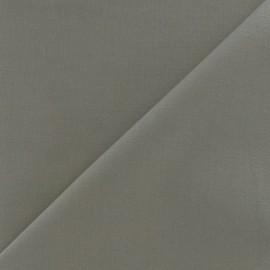 Tissu voile de coton gris anthracite x 10cm