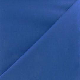 Tissu voile de coton bleu navy x 10cm