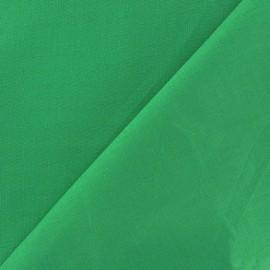 Tissu voile de coton vert vif x 10cm