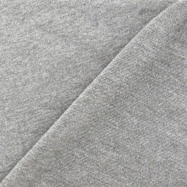 Light jogging Jersey Fabric - light grey x 10cm