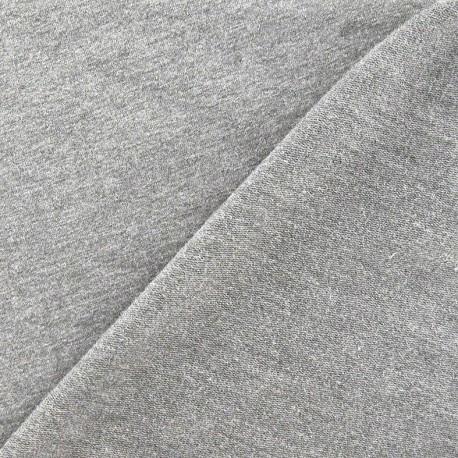 Light jogging Jersey Fabric - light grey x 10cm