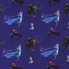 Tissu coton Disney La Reine des neiges x 23 cm