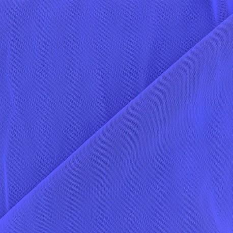 Tissu gainant bleu roy x 10 cm
