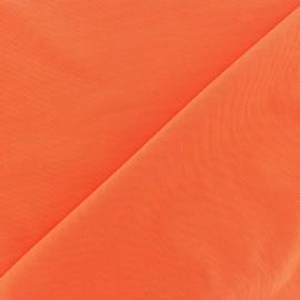 Tissu gainant PowerNet résille silhouette - orange fluo x 10 cm