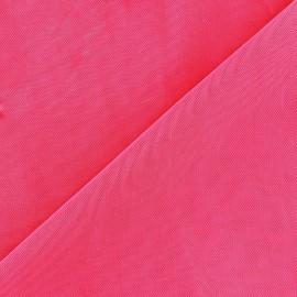 Tissu gainant PowerNet résille silhouette - fuchsia fluo x 10 cm