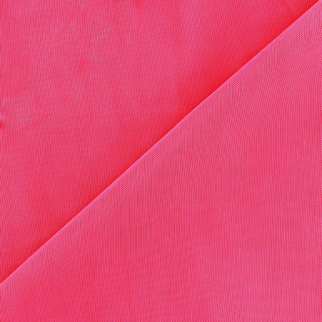 Tissu gainant fuchsia fluo x 10 cm