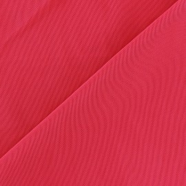 Tissu gainant PowerNet résille silhouette - rouge x 10 cm