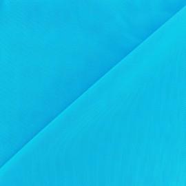 Tissu gainant PowerNet résille silhouette - azur x 10 cm