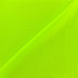 Powernet fabric – neon green x 10cm