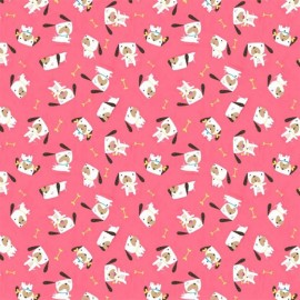 Flo's Friends fabric - Dogs  x 10cm