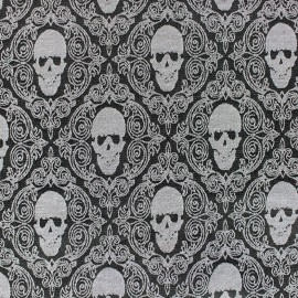 Tissu Jeans stretch Hamlet - noir x 10cm