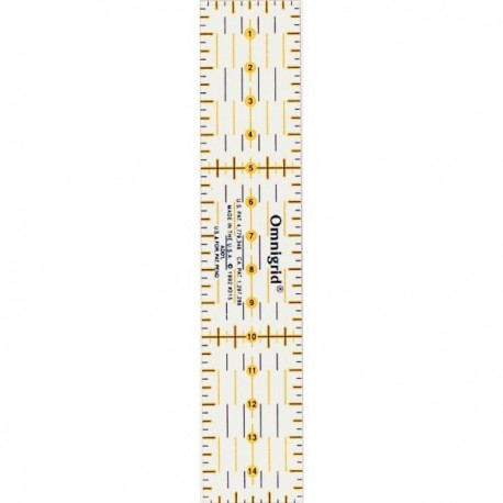 Universal ruler 3 x 15cm Prym