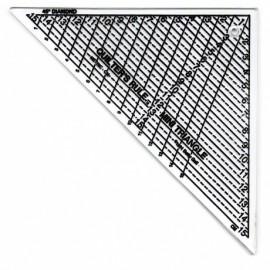Règle de découpe Mini-triangle Quilter's Rule 15 cm