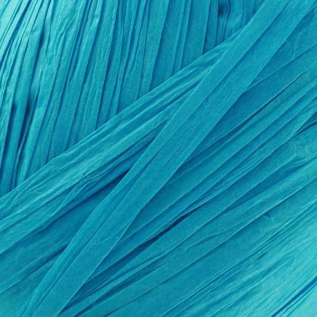 Papier créatif turquoise (pelote de 9m)