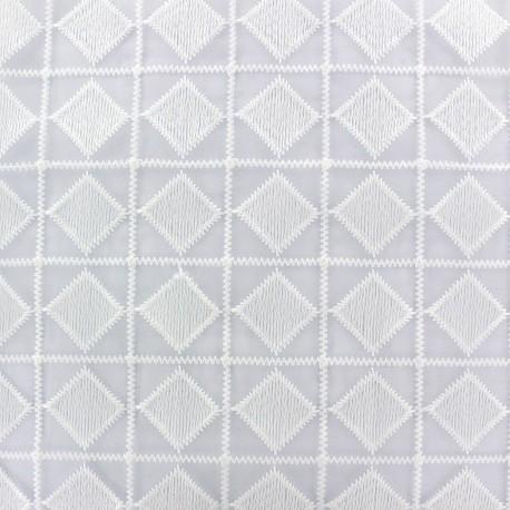 Organza Fabric Carro - white x 19cm