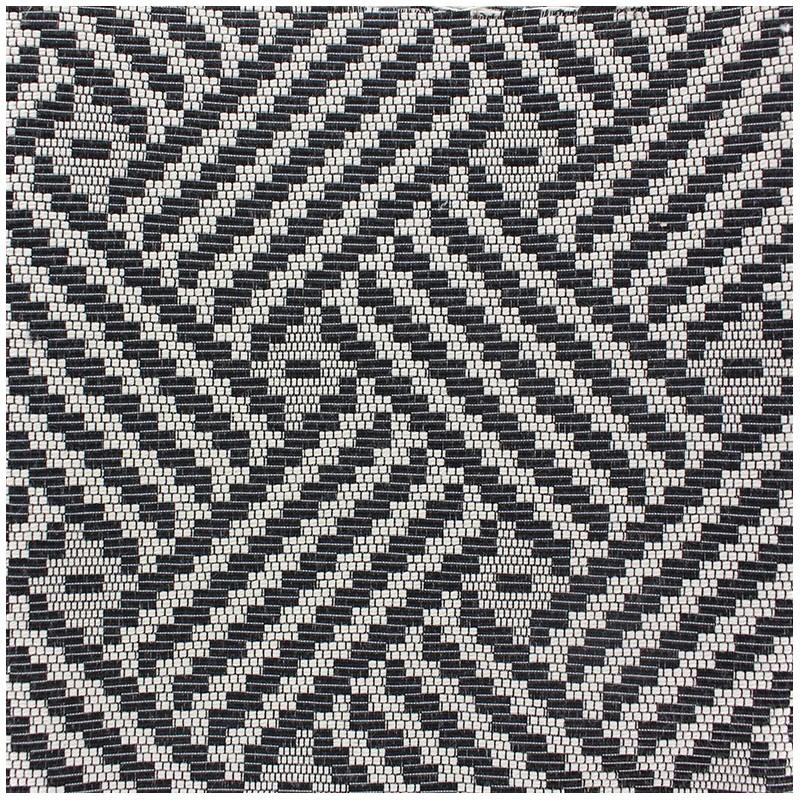 tissu jacquard d 39 ameublement tissu jacquard vista noir. Black Bedroom Furniture Sets. Home Design Ideas