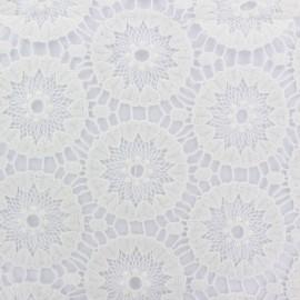 Heavy Lace Fabric Annabelle - ecru x 16cm