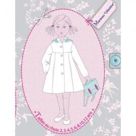"""BELLA Dress"" - sewing pattern"