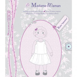 Dress sewing Pattern - Madame Maman Valentine