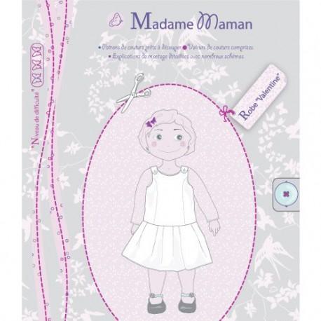 """VALENTINE Dress"" - sewing pattern"