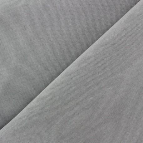Tissu Burling - gris clair x 10cm