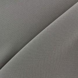 Tissu Burling - gris souris x 10cm