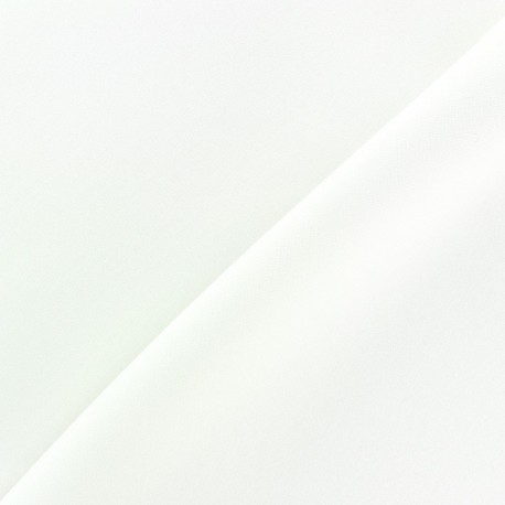 Tissu Burling - blanc x 10cm