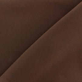 Tissu Burling - chocolat x 10cm