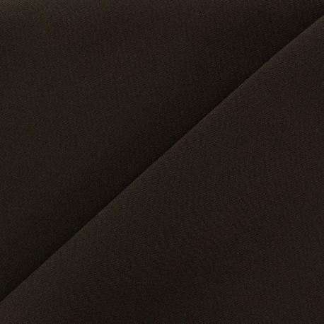 Tissu Burling - marron foncé x 10cm