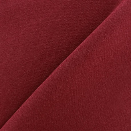 Burling Fabric - burgundy x 10cm