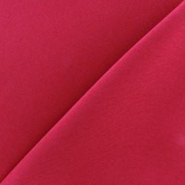 Tissu Burling - framboise x 10cm