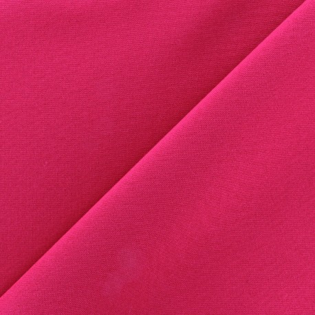 Tissu Burling - fuchsia x 10cm