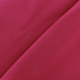 Tissu Burling - lie de vin x 10cm