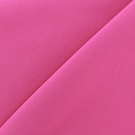 Tissu Burling - rose bonbon x 10cm