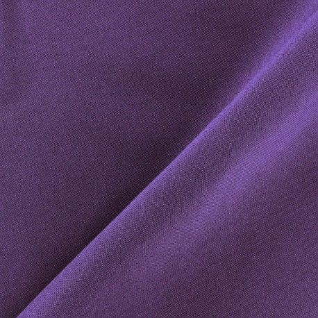 Burling Fabric - purple x 10cm
