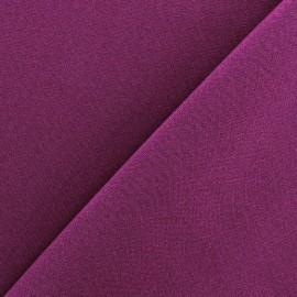 Tissu Burling - prune x 10cm