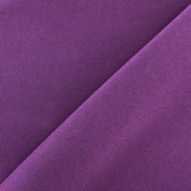 Tissu Burling - aubergine x 10cm