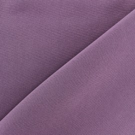 Tissu Burling - violet gris x 10cm