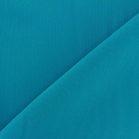 Tissu Burling - azur x 10cm