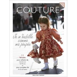 """Livre """"Couture - Je m'habille comme ma poupée"""""""