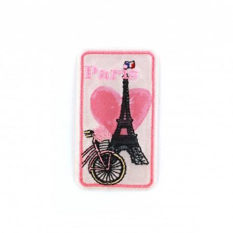 Thermocollant écusson amour de villes - Paris